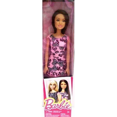 muñeca barbie basica caja con detalles solo rubia