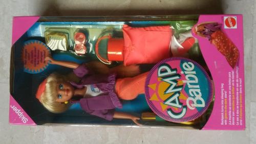 muñeca barbie camp