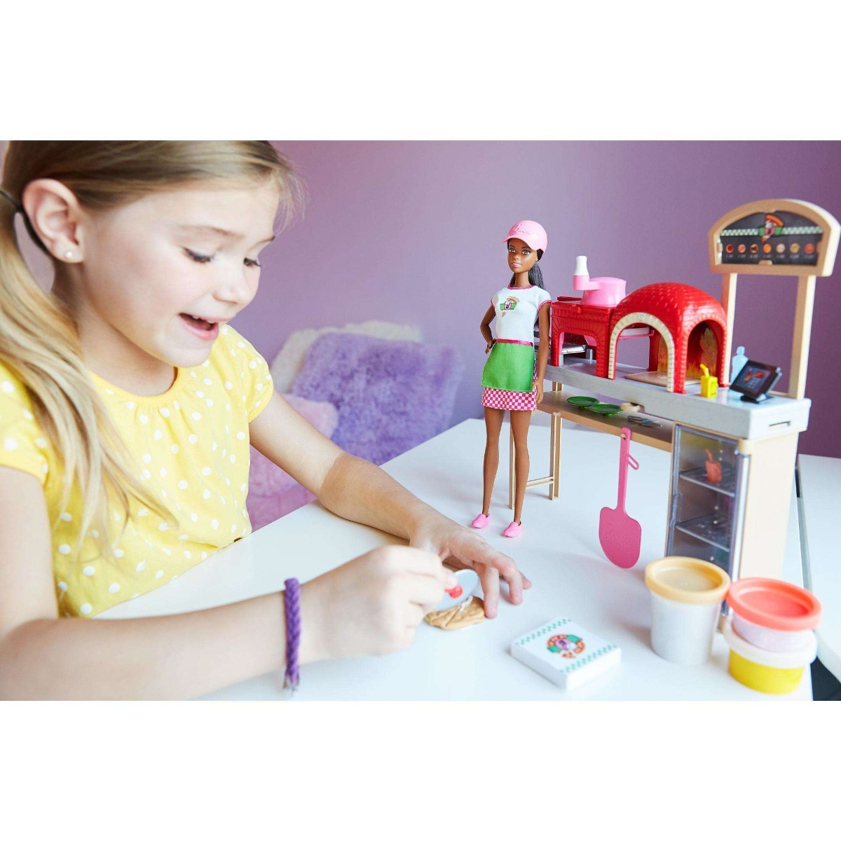Muneca Barbie Chef Cocinar Y Hornear Pizza Y Set De 325 550 En