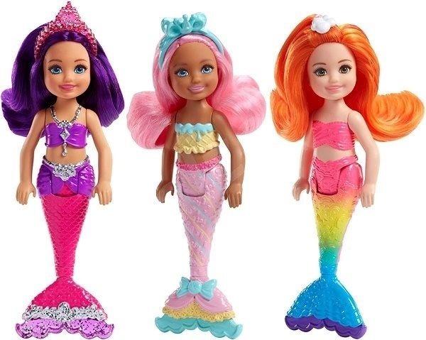 Muñeca Barbie Chelsea Sirena 33000 En Mercado Libre