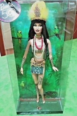 muñeca barbie de coleccion amazonia