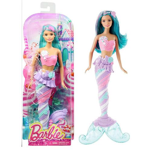 muñeca barbie dreamtopia sirena original jugueteria bloque