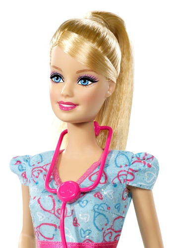 muñeca barbie enfermera medica doctora enfermeria salud