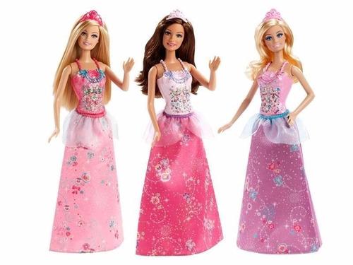 muñeca barbie fashionista princesa original de mattel