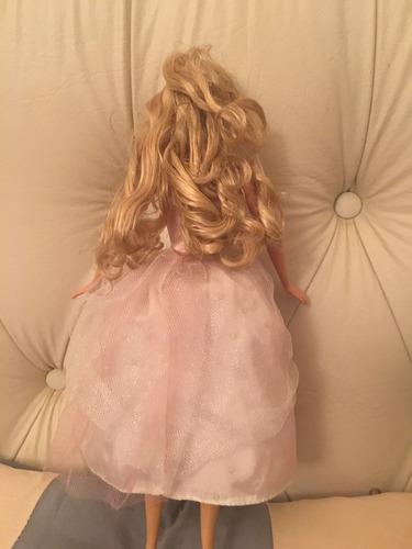 muñeca barbie princesa usada