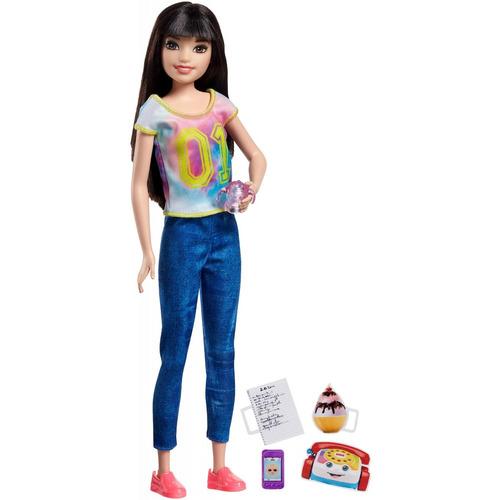 muñeca barbie skipper niñera y accesorios