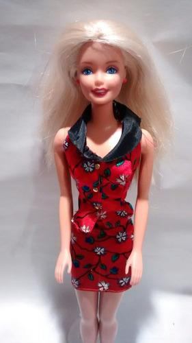 muñeca barbie style 90's + envio gratis