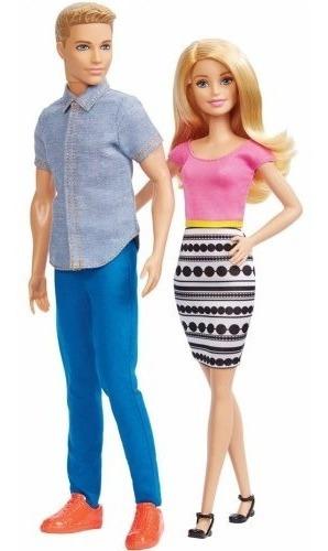muñeca barbie y ken set