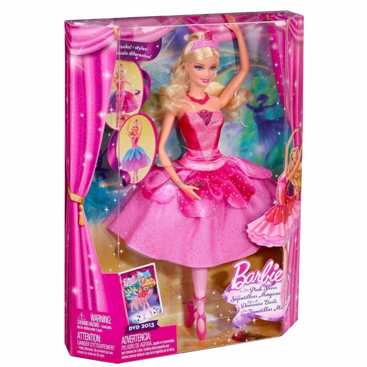 Barbie Magicas Y Muñeca Las Zapatillas 0wO8Pkn