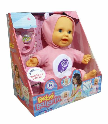 muñeca bebe bebote bailarin baila y canta