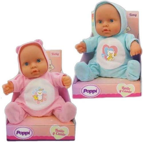 muñeca bebe bebote poppi baila y canta 1701 babymovil