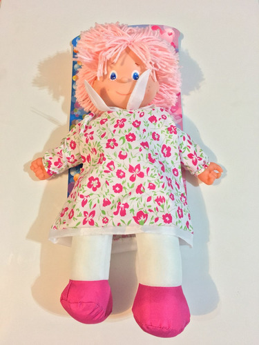 muñeca bebe de tela pepona 43cm