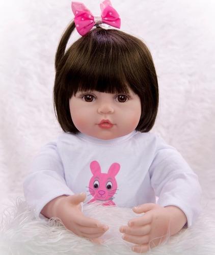 muñeca bebé realista 43 cm envío inmediato