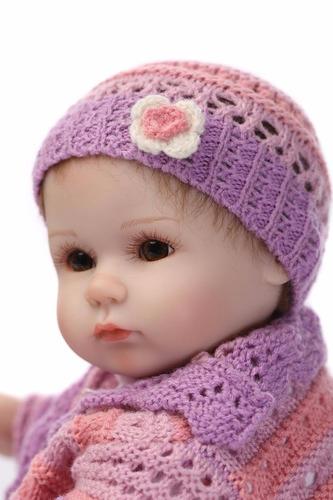 muñeca bebe sanydoll vinilo siliconado 45 cm- envío gratis