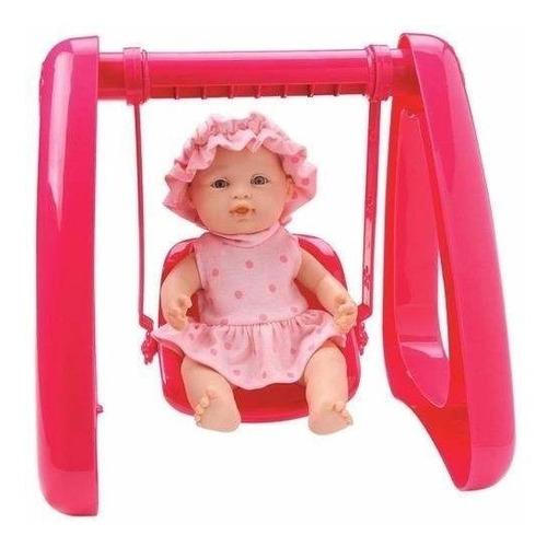 muñeca bebote + hamaca 23 cm r&m babies 2356