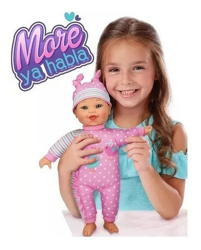 muñeca bebote more ya habla con sonidos lalelu educando 3114