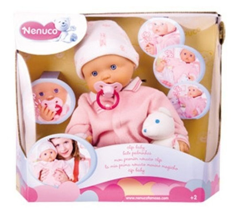 muñeca bebote nenuco c/ manos pies imantados children´s