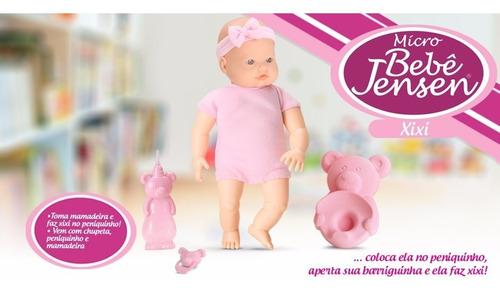 muñeca bebote pelela chupete mema  hace pis micro bebé 5421