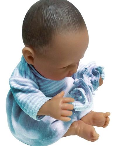muñeca bebotes reales bebe reborn mini con vestido y vincha