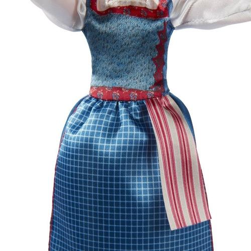 muñeca bella vestido de la aldea (2516)
