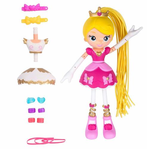 muñeca betty spaghety princess/ballerina original 23 piezas