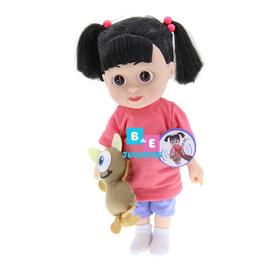 Muñeca Boo Con Sonido,  Monster Inc 30 Cm Incluye Morral
