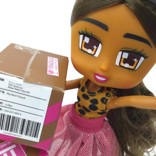 muñeca boxy girls juguete nenas incluye accesorios coleccion