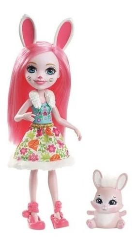 muñeca bree bunny & twist 17 cm enchantimals juguetes pp