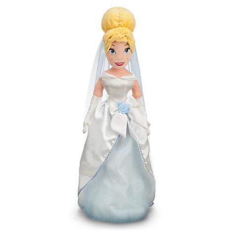muñeca cenicienta vestida de novia 54cm de alto disney ( 123