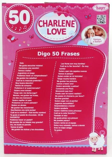 Muñeca Charlene Equitación 40cm 50 Frases Caccs 9404420