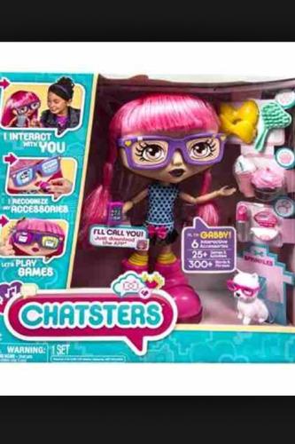 muñeca chatsters interactiva gaby