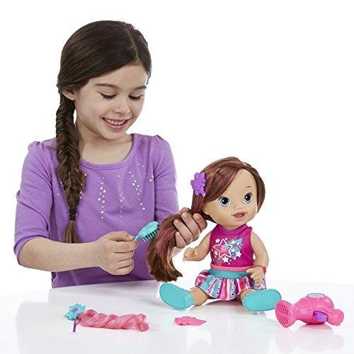 muñeca christina estilismo play 'n style baby alive multi co