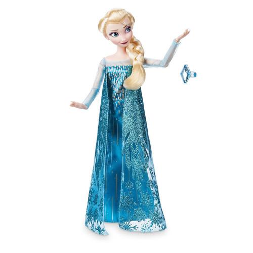 muñeca clasica elsa frozen el reino de hielo original disney