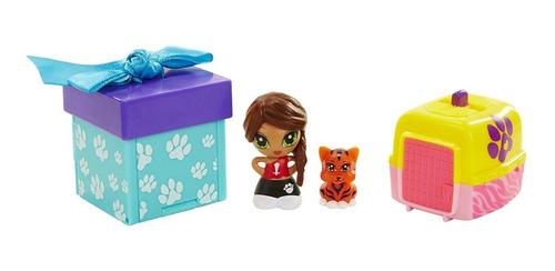 muñeca coleccionable pet friends gift ems con sorpresa