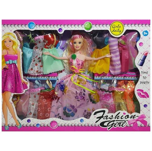 muñeca con  20 vestidos / juguete - el regalón