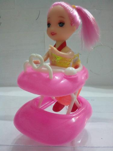 muñeca con coche juguete para niña regalo calidad oferta