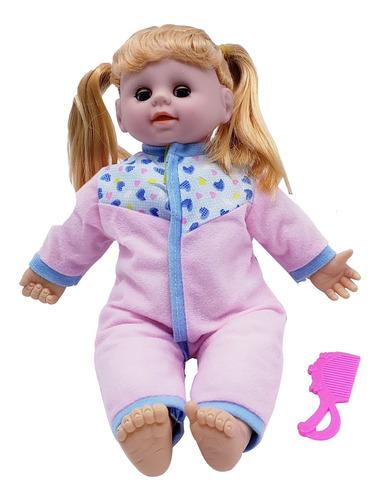 muñeca con sonido y accesorios muñeca bebote juguete - el re