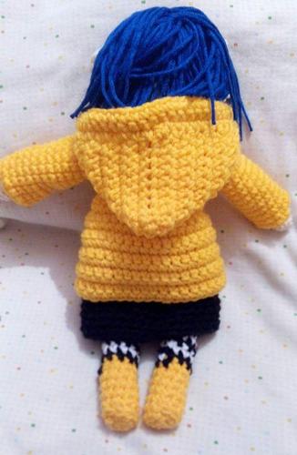 muñeca coraline tejida crochet