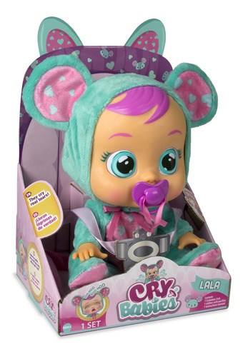 muñeca cry babies 10581 girls lala baby doll