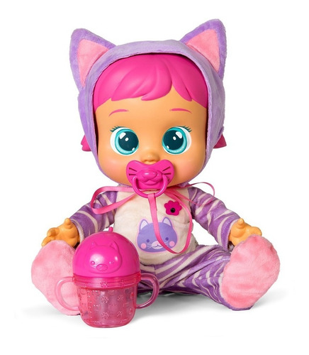 muñeca cry babies interactiva katie (2449)