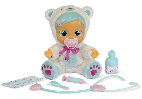 muñeca cry babies kristal interactiva enfermita imc toys