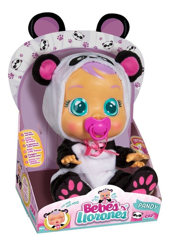 muñeca cry babies pandy (2448)