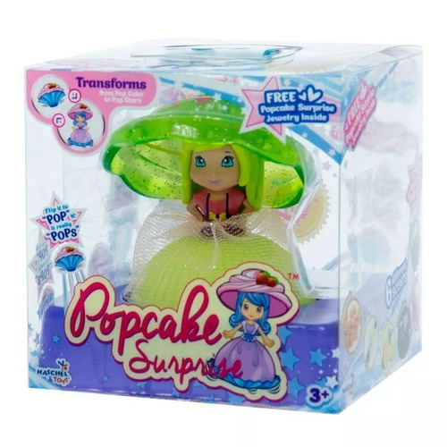 muñeca cupcake surprise doll edicion princess perfume peine