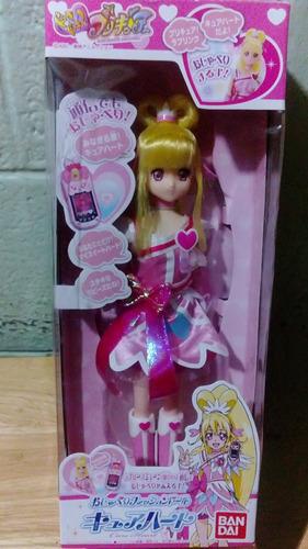 muñeca cure heart tipo barbie pretty cure manga anime