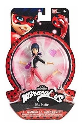 muñeca de acción de 5.5 pulgadas miraculous, marinette,