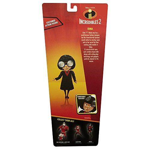 muñeca de figuras de accion the incredibles 2 edna en traje