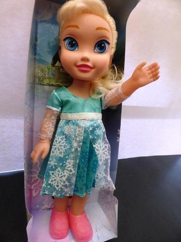 muñeca de la serie frozen con musica