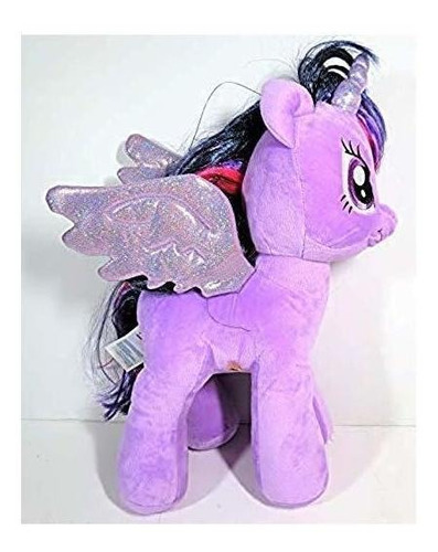 muñeca de peluche grande my little pony twilight sparkle de
