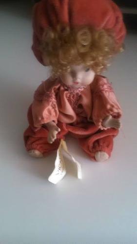muñeca de porcelana capodimonte