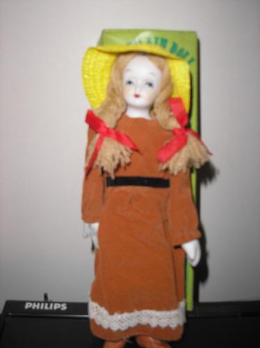 muñeca de porcelana coleccion años 80 devoto toys